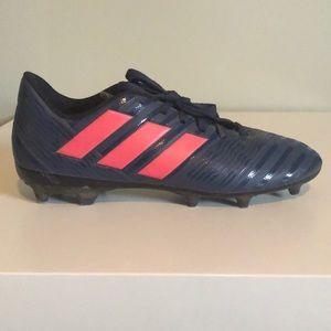 Adidas Navy soccer cleats